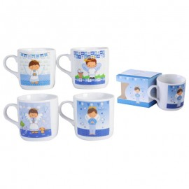 Taza de cerámica comunión niño