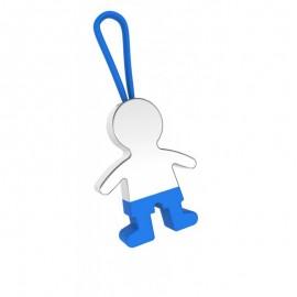 Llavero niño azul