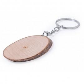 Llavero madera de haya
