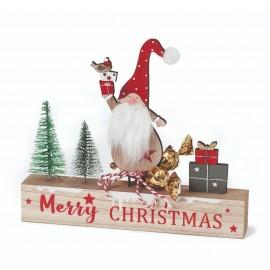 Letrero madera Navidad