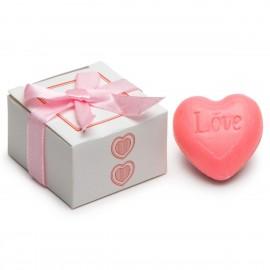 Jabón corazón love