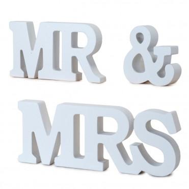 Set madera MR & MRS
