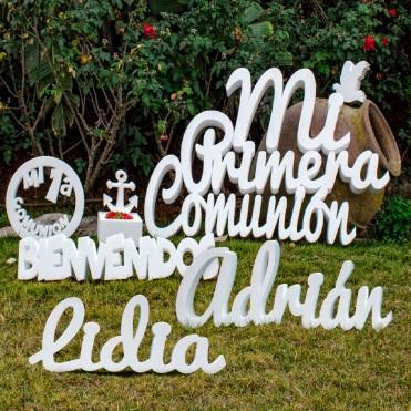 """Pack """"Mi Primera Comunión"""" + 2 nombres"""