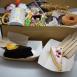 """kit desayuno/merienda tarta chocolate """"Feliz cumpleaños"""""""
