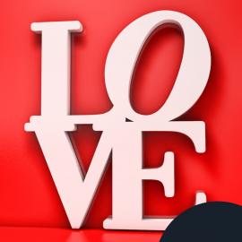 "Figura ""Love"""