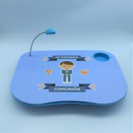 Mesa portátil con luz comunión niño