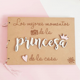 ALBUM DE FOTOS PRINCESA