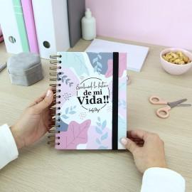 """Cuaderno A5 """"Escribiendo la historia de mi vida"""""""