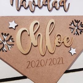 Banderola navidad personalizada